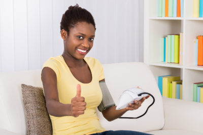 at-home blood pressure readings