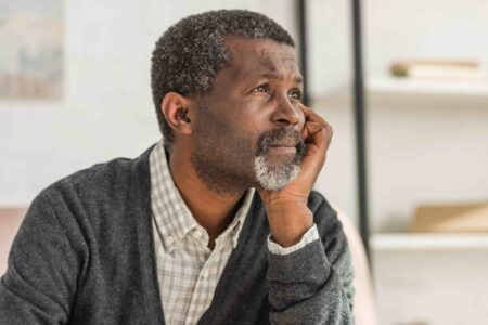 depression among black men